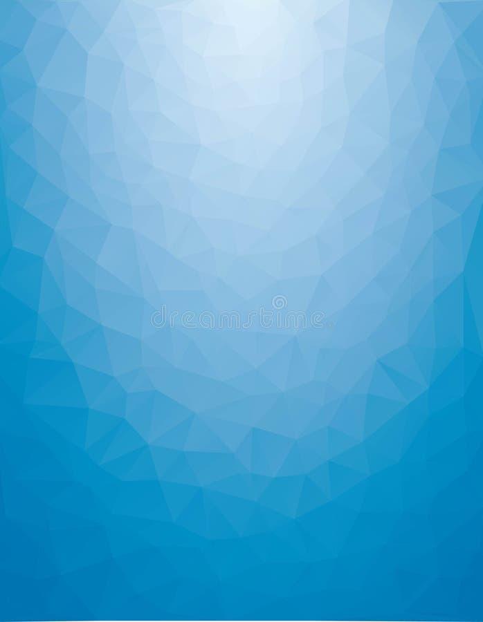 Abstrakcjonistyczny poligonalny tło ilustracja wektor