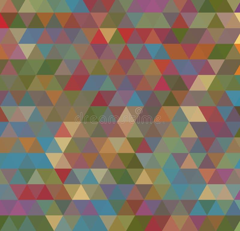 Abstrakcjonistyczny poligonalny tło Trójboka tło Geometrical linie royalty ilustracja