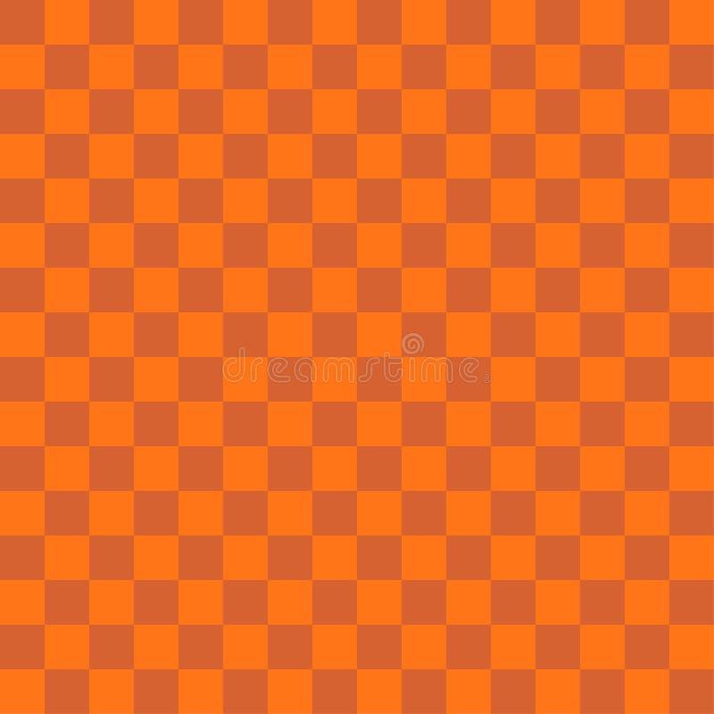 Abstrakcjonistyczny pomarańczowy koloru kwadrata tło dla Halloween tematu conc royalty ilustracja