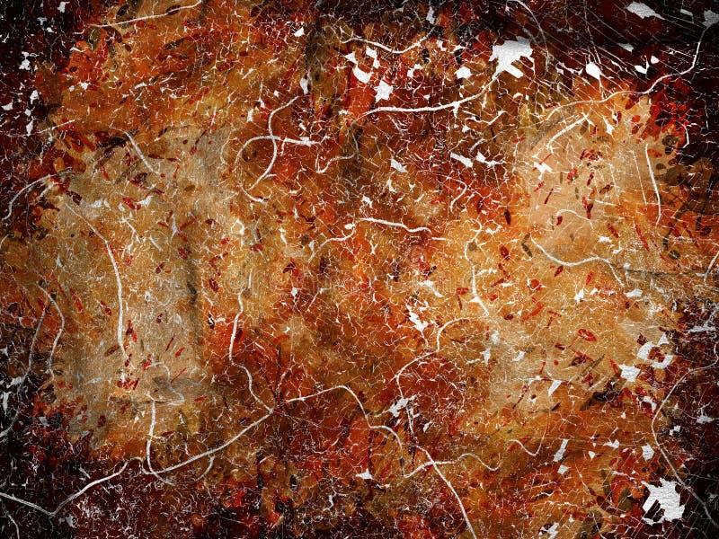 Download Abstrakcjonistyczny Pomarańczowy Tło Ilustracji - Ilustracja złożonej z wyznaczający, kontrast: 28960856