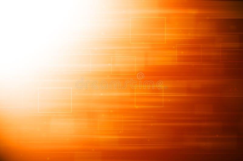 Abstrakcjonistyczny pomarańczowy techniki tło royalty ilustracja