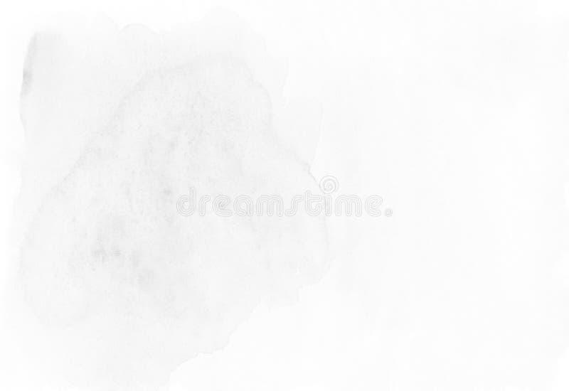 Abstrakcjonistyczny popielaty akwareli tło z przestrzenią dla teksta ilustracji