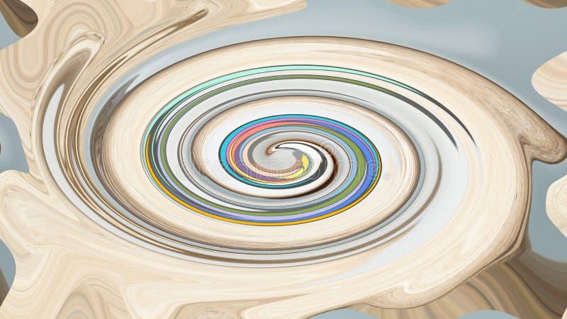 Abstrakcjonistyczny Pozaziemski Ogólnoludzki Wzrostowy pierścionek fotografia royalty free