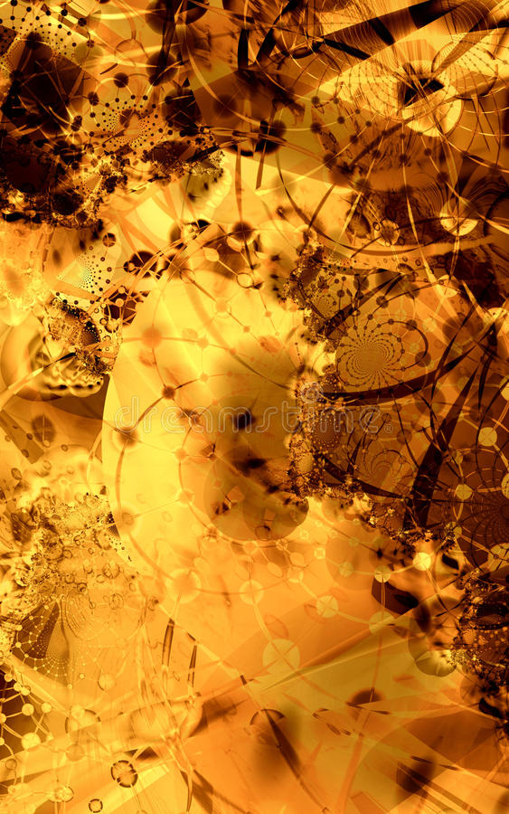 abstrakcjonistyczny projekt royalty ilustracja