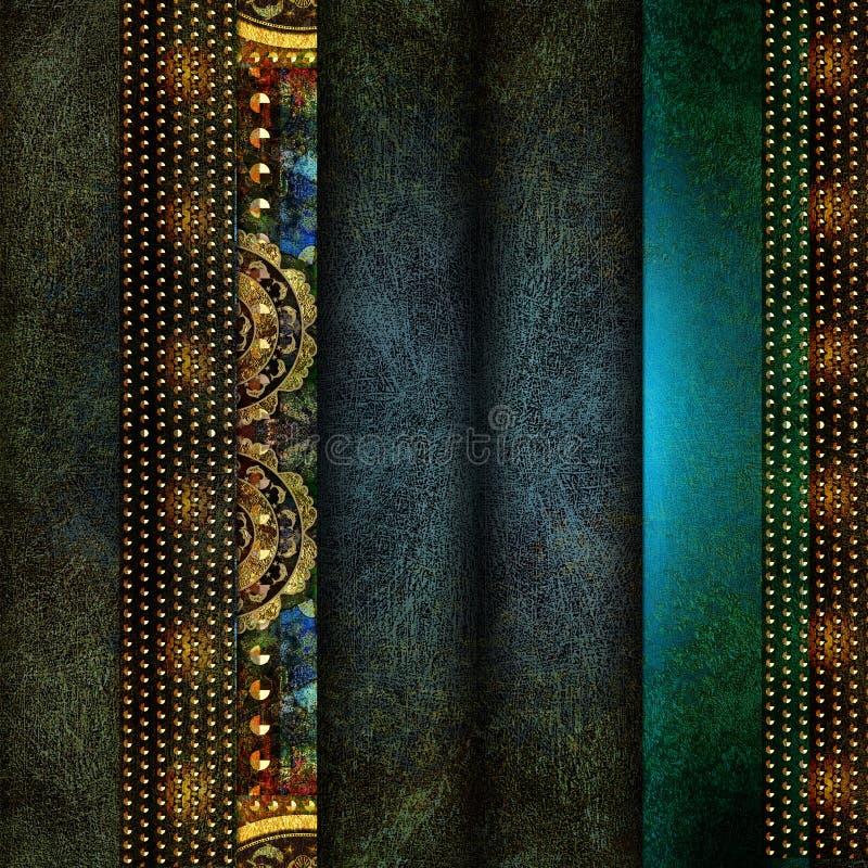 Abstrakcjonistyczny projekta element na Ciemnym tle zdjęcie royalty free