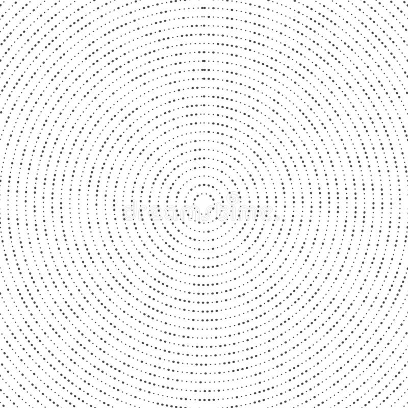 Abstrakcjonistyczny przypadkowy wielkościowy czarny okrąg kropki cząsteczki dekoracji tło Ilustracyjny wektor eps10 royalty ilustracja