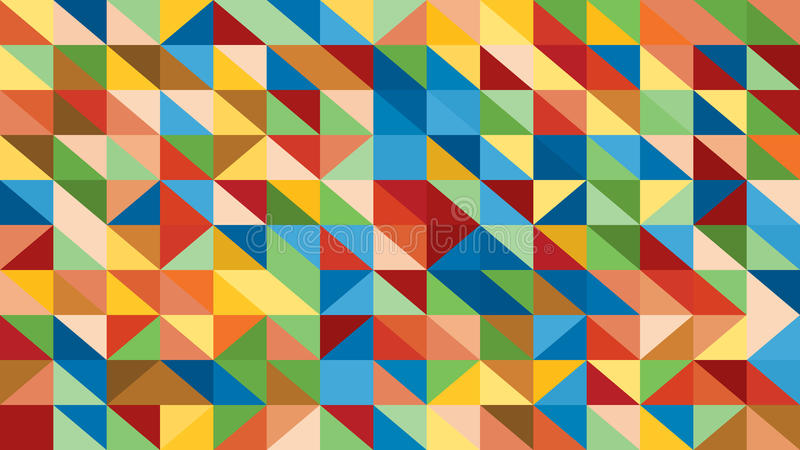 Abstrakcjonistyczny raibow kolorowy wiele trójboków tło dla use w projekcie lowploly ilustracji