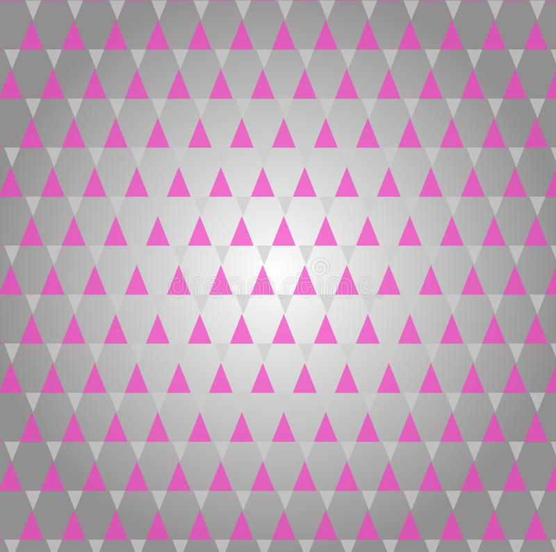 Abstrakcjonistyczny retro wzór geometryczni kształty Kolorowy gradientowy mozaiki tło Geometrycznego modnisia trójgraniasty tło,  royalty ilustracja