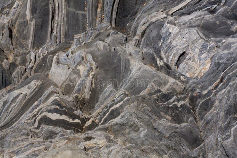 abstrakcjonistyczny rockowy iłołupek zdjęcia stock
