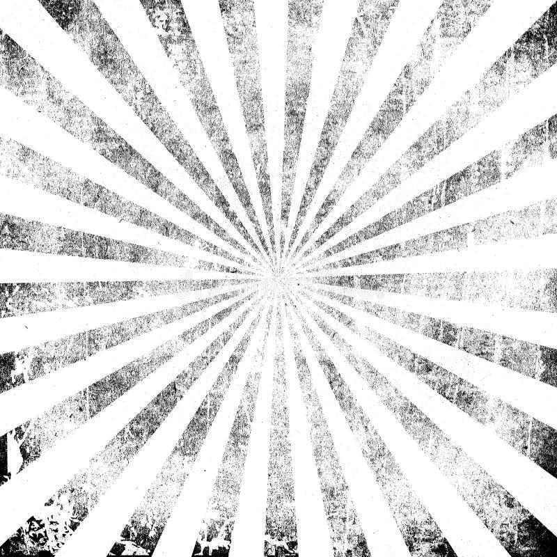 Abstrakcjonistyczny rocznik szarość wybuch Pył cząsteczki i pył adry tekstura na białym tle, ilustracja wektor