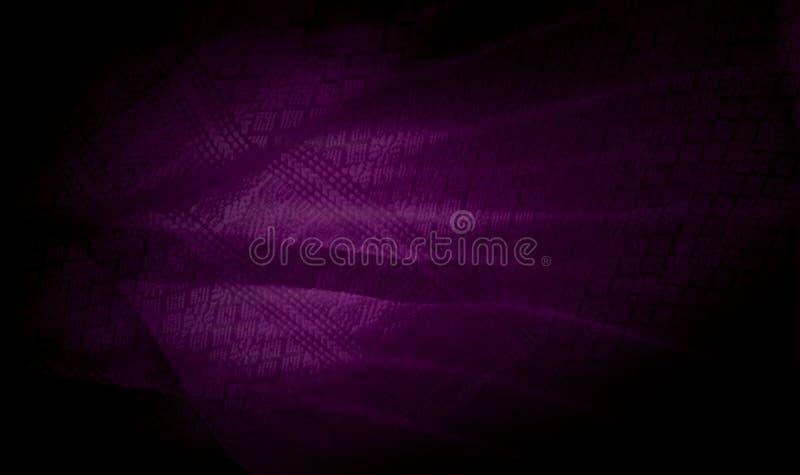 Abstrakcjonistyczny rocznika tło, purpurowa tajlandzka tkaniny tekstura fotografia royalty free