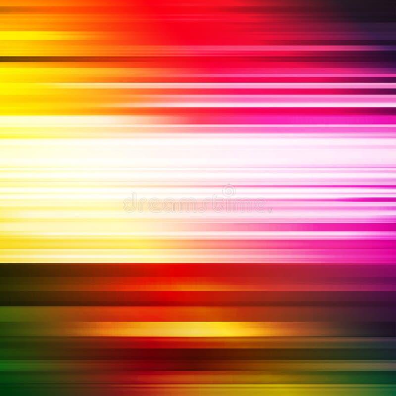 Abstrakcjonistyczny rozjarzony tło. ilustracja wektor