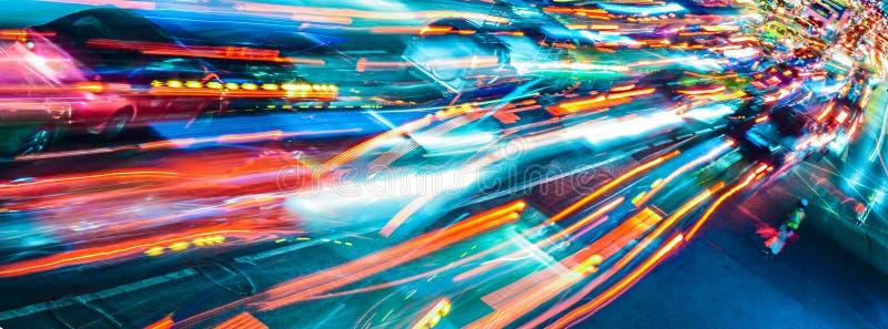 Abstrakcjonistyczny ruch drogowy fotografia royalty free