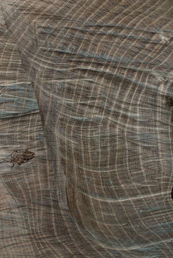 Abstrakcjonistyczny stały drewniany okręgu wzór zdjęcia stock