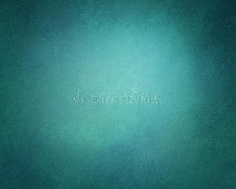 Abstrakcjonistyczny stały tło w zmroku - błękitnego i zielonego koloru odcieniach z miękkim grunge textured winiety granicę ilustracja wektor