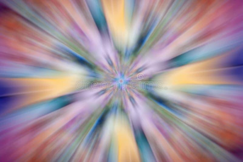 Abstrakcjonistyczny stubarwny symmetric zamazany tło obraz royalty free