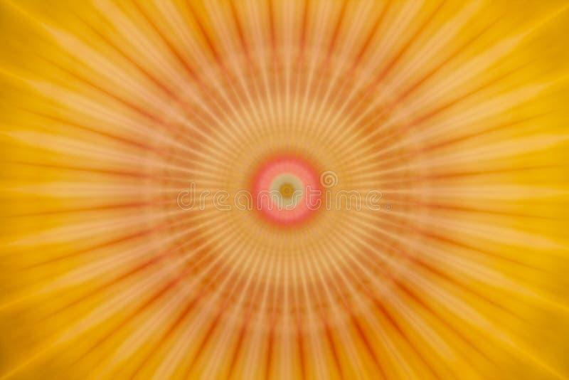 Abstrakcjonistyczny stubarwny symmetric zamazany tło obrazy stock