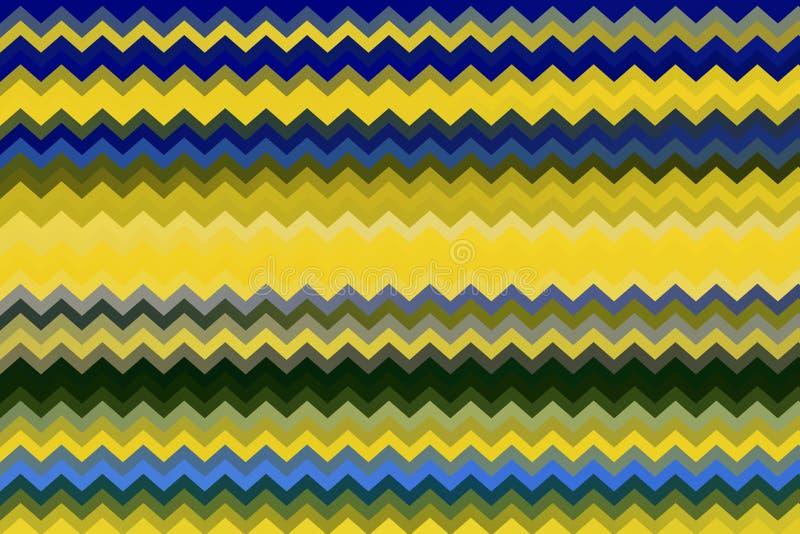 Abstrakcjonistyczny Stubarwny zygzag Paskuje teksturę dla tła zdjęcia stock