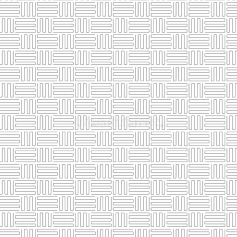 Abstrakcjonistyczny szarości linii wzór ilustracji