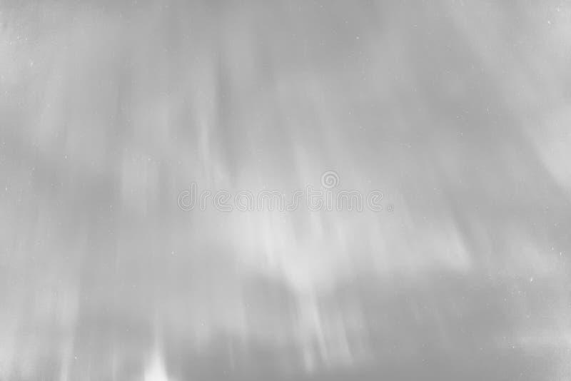 Abstrakcjonistyczny szary północnych świateł tło fotografia royalty free