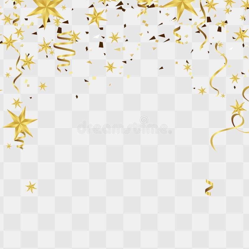 Abstrakcjonistyczny szczęśliwy nowego roku tła miejsce dla bożych narodzeń i sławy ilustracja wektor