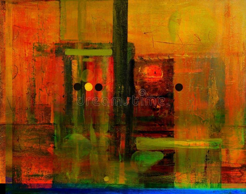 abstrakcjonistyczny szkło zdjęcie stock