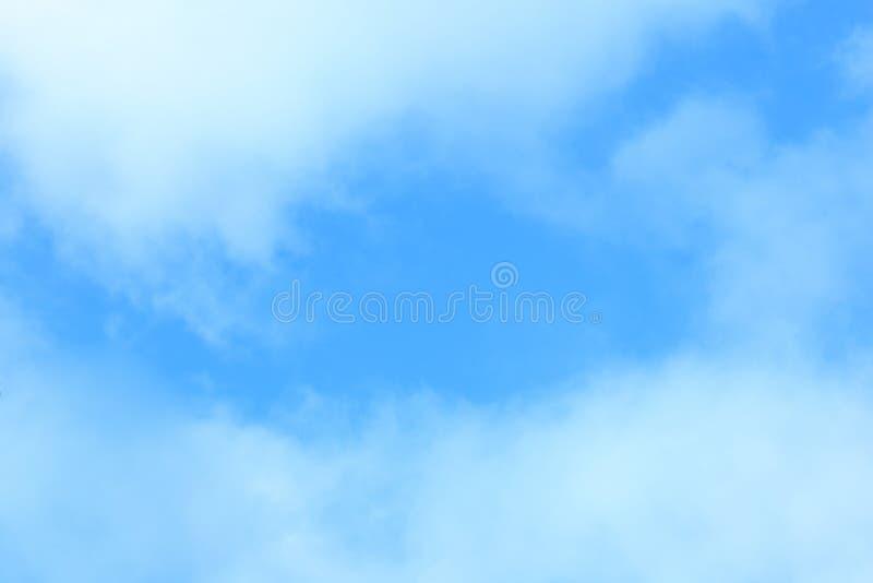 Abstrakcjonistyczny tło, niebieskie niebo Fotografia z miejscem dla teksta fotografia royalty free