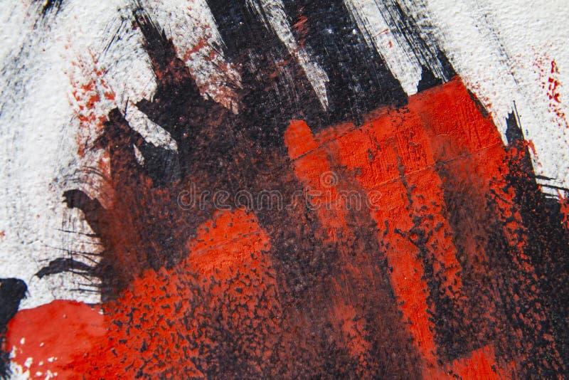 Abstrakcjonistyczny tło robić od farby fotografia royalty free