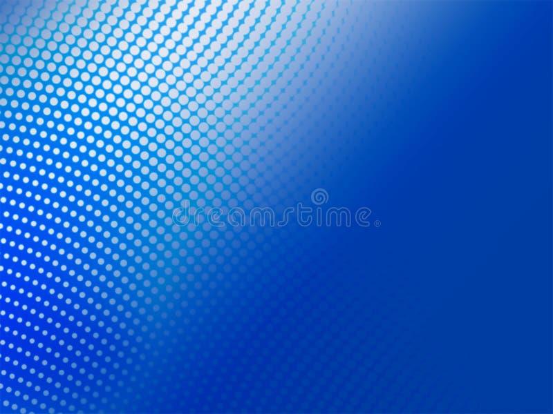 abstrakcjonistyczny tła błękit halftone royalty ilustracja