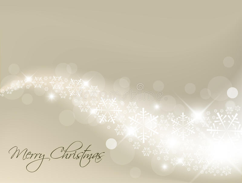 abstrakcjonistyczny tła bożonarodzeniowe światła srebro ilustracji