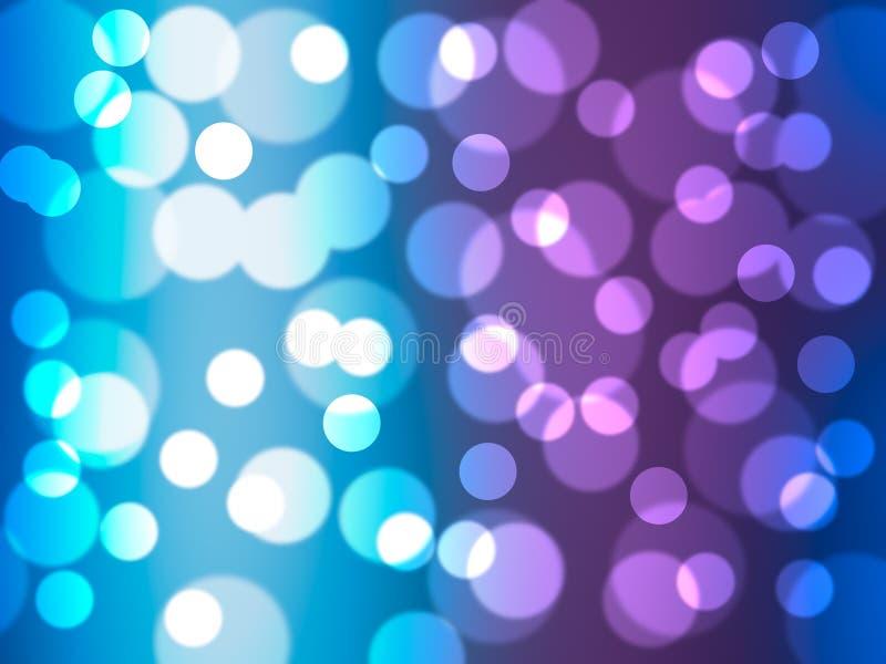 Abstrakcjonistyczny tła bokeh, kolorowi okręgi zdjęcie royalty free
