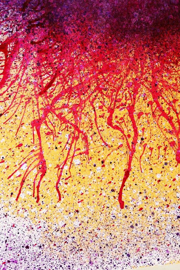 abstrakcjonistyczny tła farby splatter obrazy royalty free