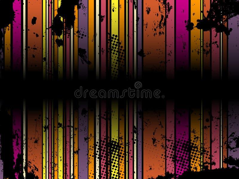 abstrakcjonistyczny tła grunge lampas ilustracji