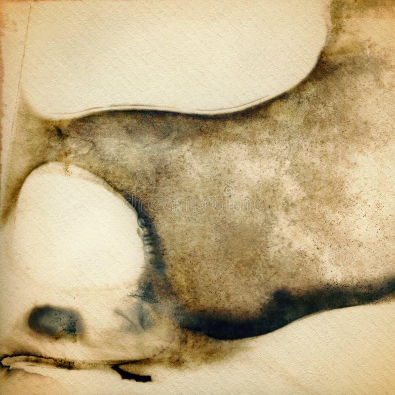 abstrakcjonistyczny tła grunge papier zdjęcie royalty free