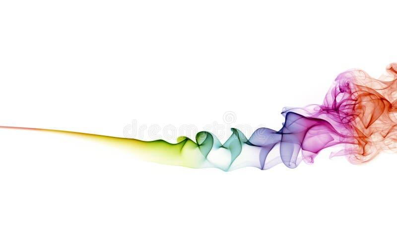 abstrakcjonistyczny tła koloru dymu biel zdjęcie royalty free