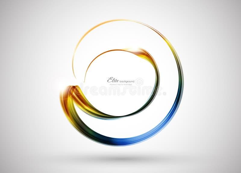 abstrakcjonistyczny tła koloru szablon ilustracji