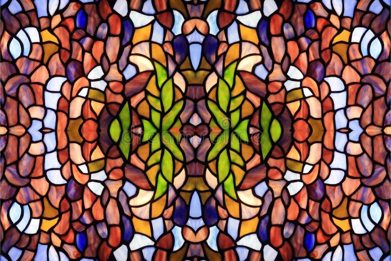 abstrakcjonistyczny tła koloru szkło zdjęcie stock