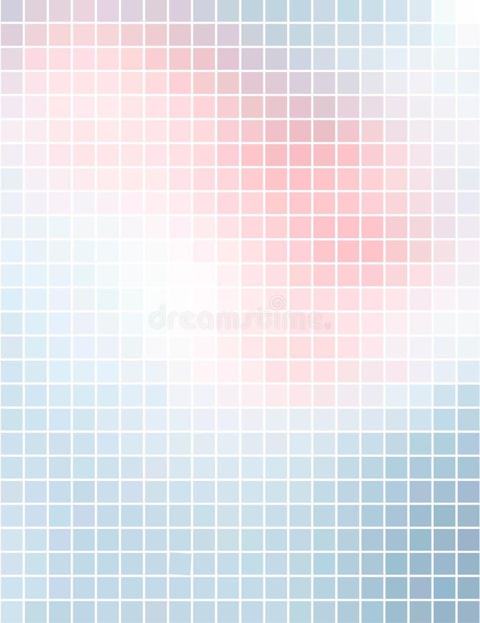 abstrakcjonistyczny tła mozaiki kwadrata vertical ilustracji