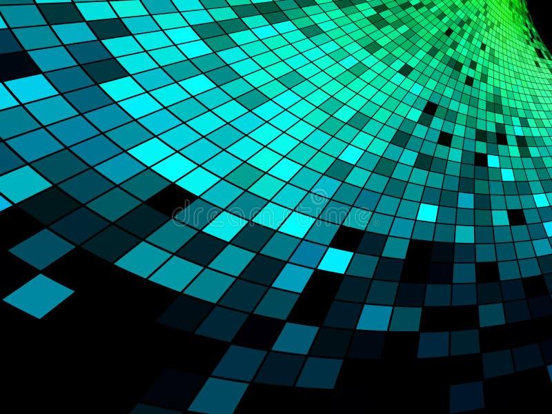 abstrakcjonistyczny tła mozaiki piksla kwadrat ilustracja wektor