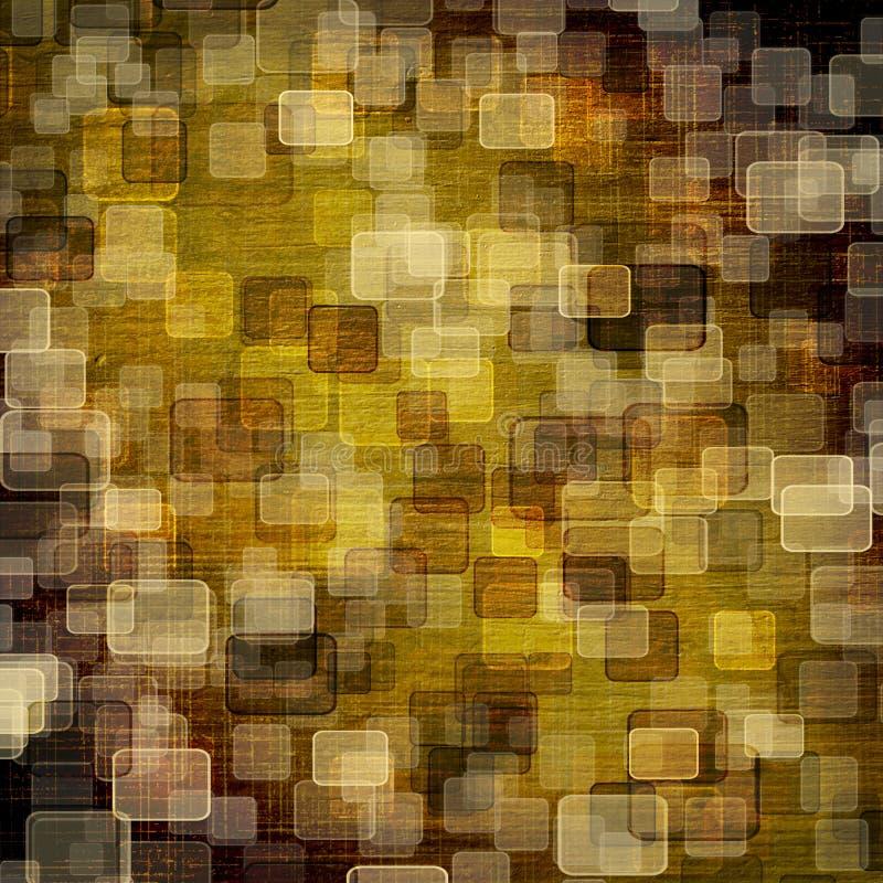 abstrakcjonistyczny tła plamy bokeh stubarwny royalty ilustracja