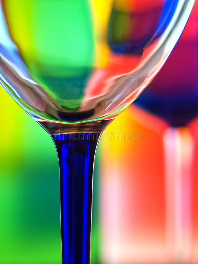 abstrakcjonistyczny tła projekta glassware wino obrazy stock
