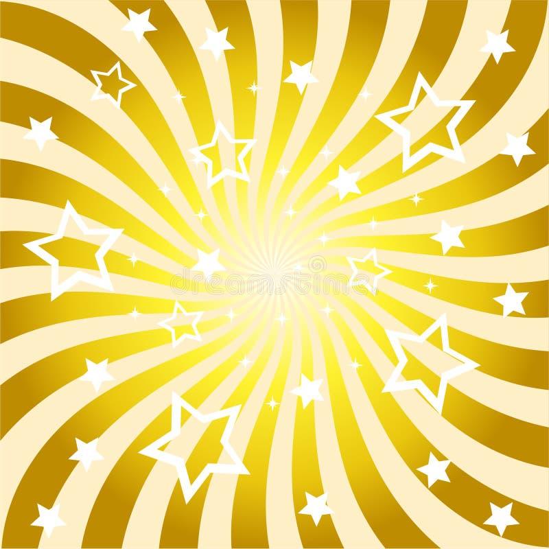 abstrakcjonistyczny tła promieni słońce royalty ilustracja