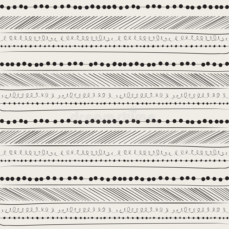 abstrakcjonistyczny tła rysunku ręki wzór ilustracja wektor
