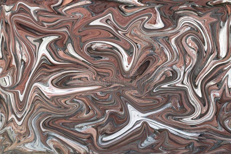 Abstrakcjonistyczny tła screensaver ilustracja wektor