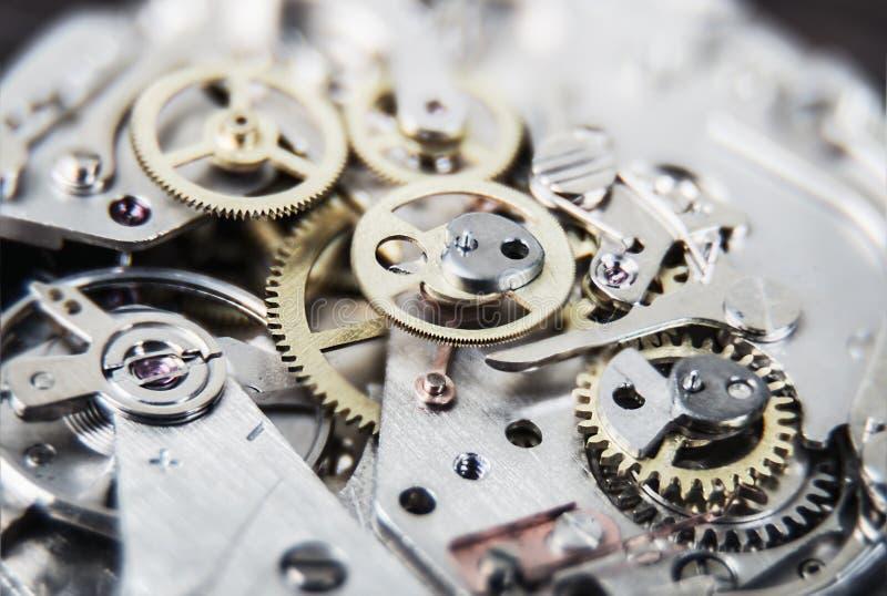 abstrakcjonistyczny tła zegaru składu mechanizm fotografia royalty free