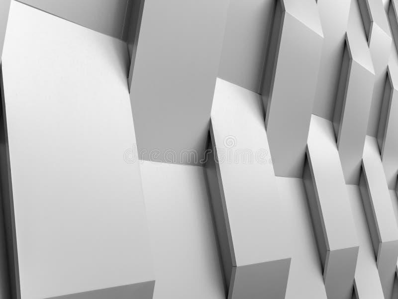 Abstrakcjonistyczny tło ściany geometrii dekoraci tło zdjęcia royalty free