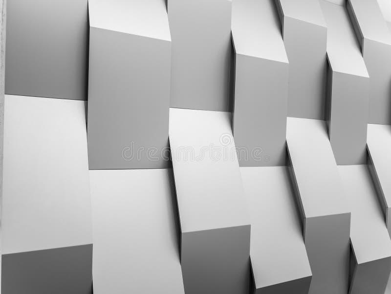 Abstrakcjonistyczny tło ściany geometrii dekoraci tło obraz royalty free