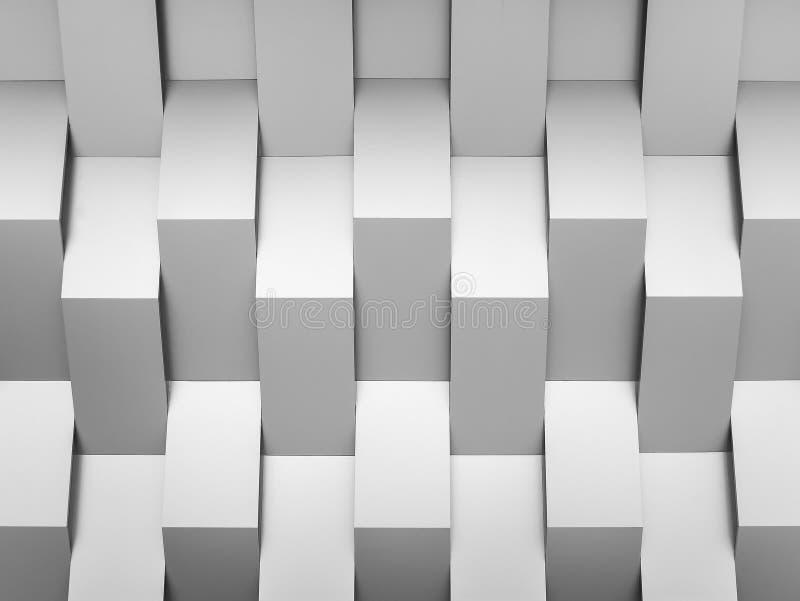 Abstrakcjonistyczny tło ściany geometrii dekoraci tło fotografia stock