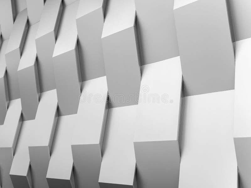Abstrakcjonistyczny tło ściany geometrii dekoraci tło obrazy royalty free