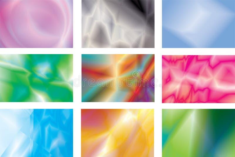 abstrakcjonistyczny tło abstrakcjonistyczny wielo- set obrazy stock